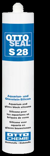 OTTOSEAL S28 - Das Aquarien- und Glasstein-Silicon