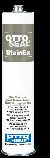 StainEx - Die Marmor- und Naturstein-Entfettungspaste - Profisilikon