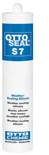 OTTOSEAL S7 - Weather - Sealing - Silicon / Schwarz